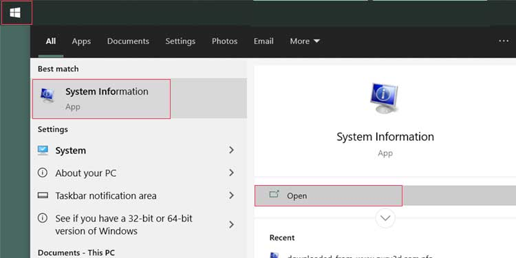 Windows System-Info