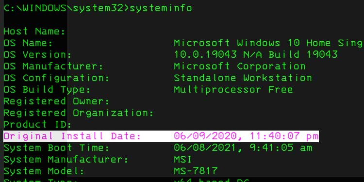 System-Info_install_date