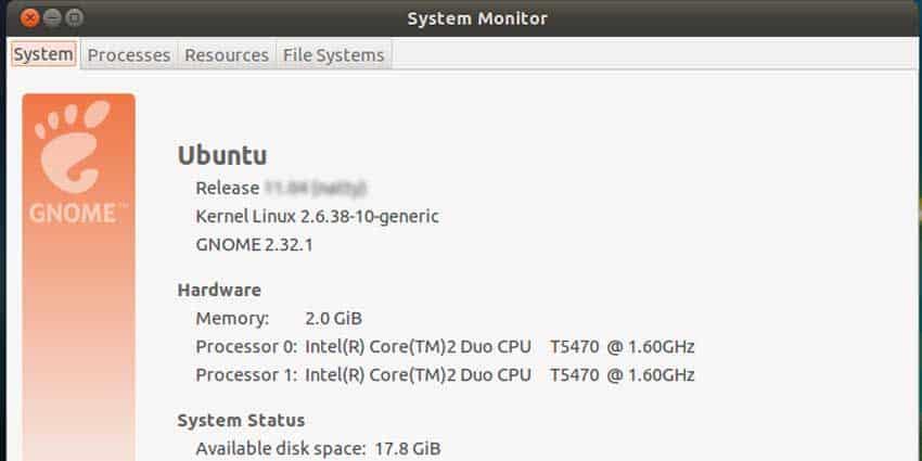 System Information Linux