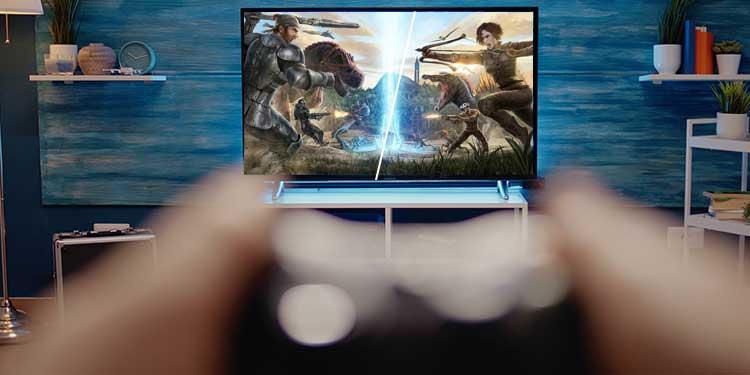 ark survival split screen