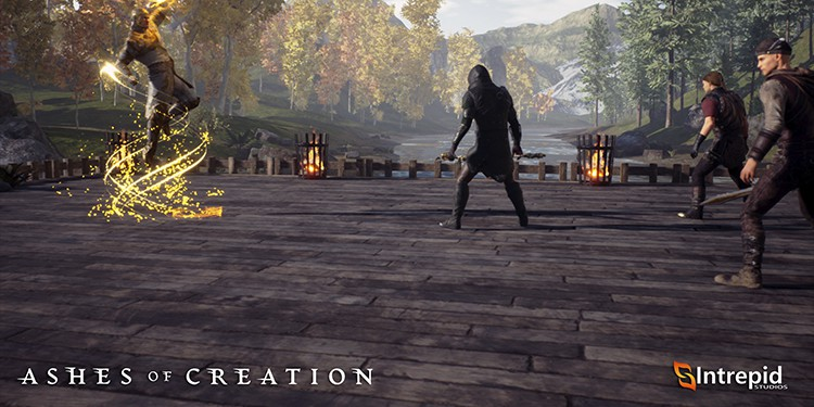 Ashes fo creation MMORPG