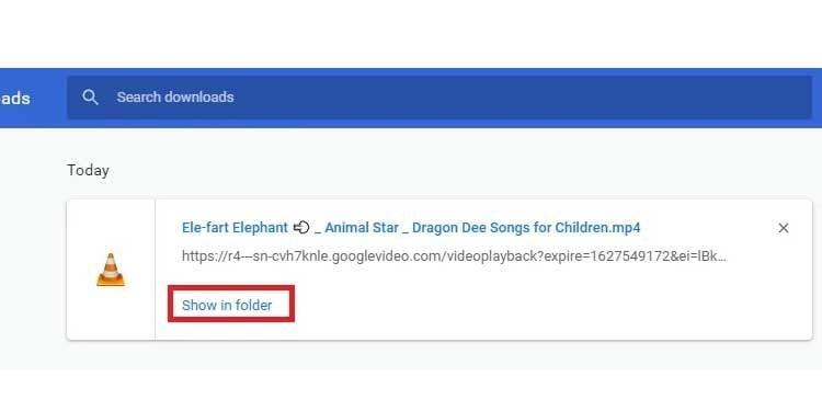 delete downloaded file on google chrome alternate method