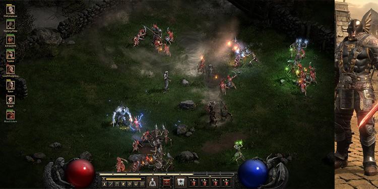 Diablo II mercnearies