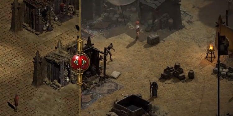 Diablo II: Resurrected visuals