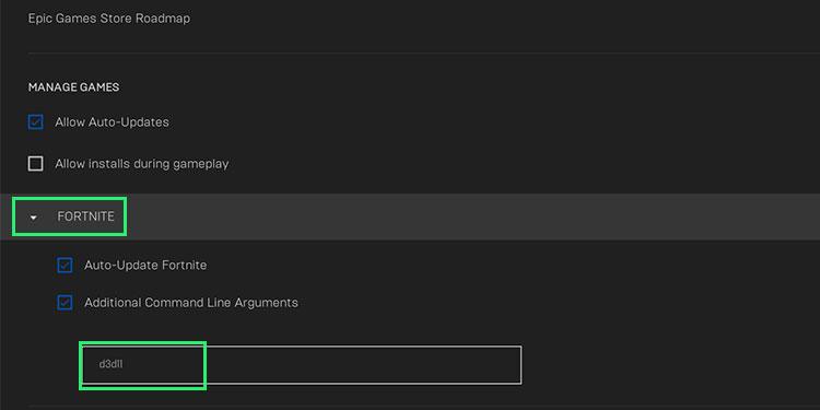 fortnite on DirectX 11