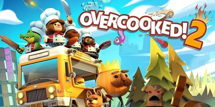 Overcooked best split-screen PS4 games