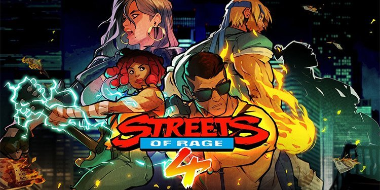 Streets of Rage 4 as one of the best couch co-op games for PS4
