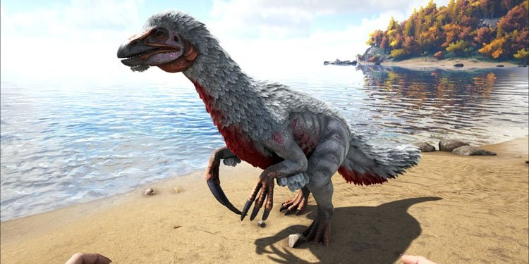 tame Therizinosaurs in ark-survival