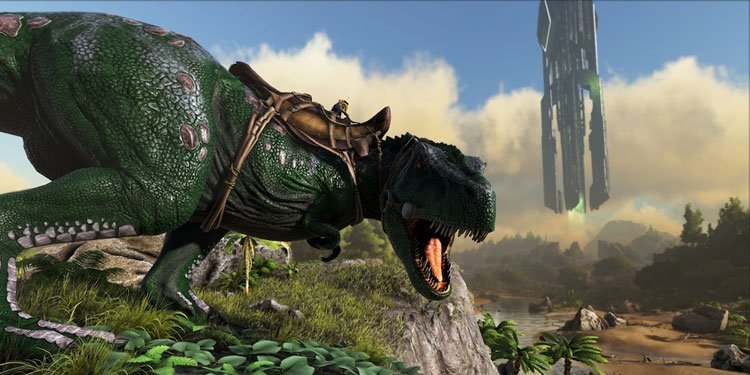 tame Tyrannosaurus Rex in ark-survival