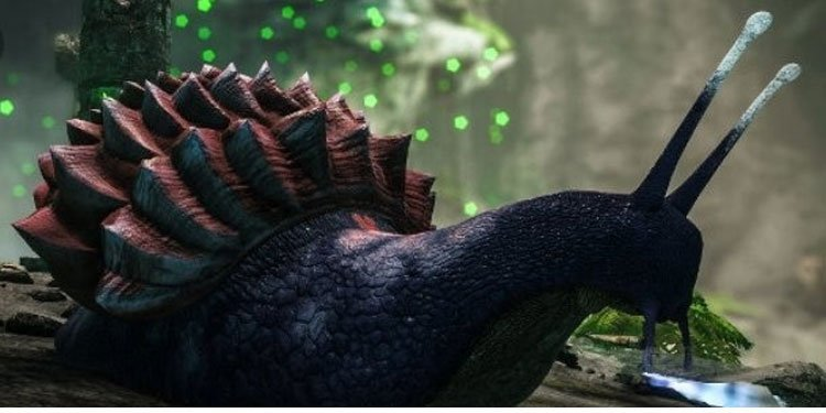 tame achatina in ark-survival