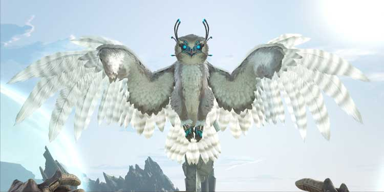 tame snow owl in ark survival