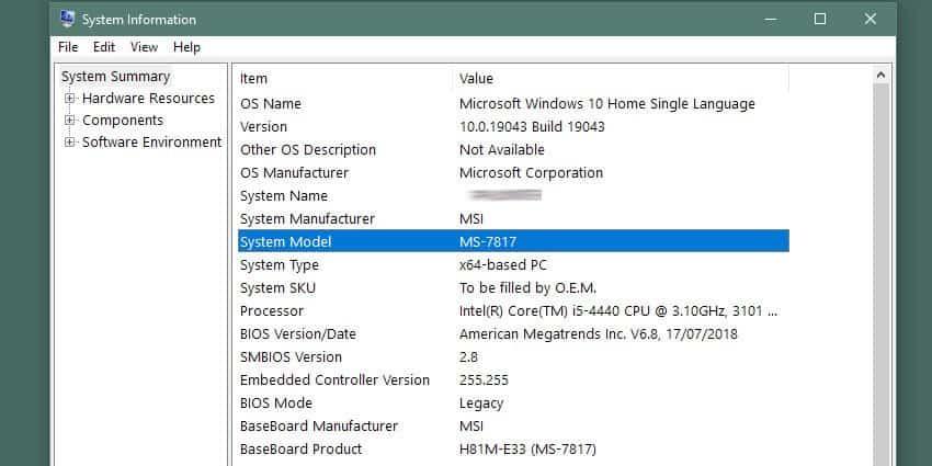 windows-msinfo32