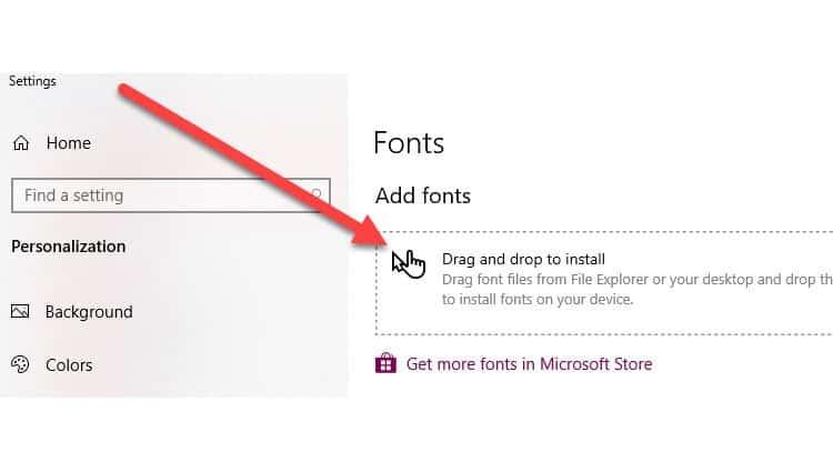 Add Fonts