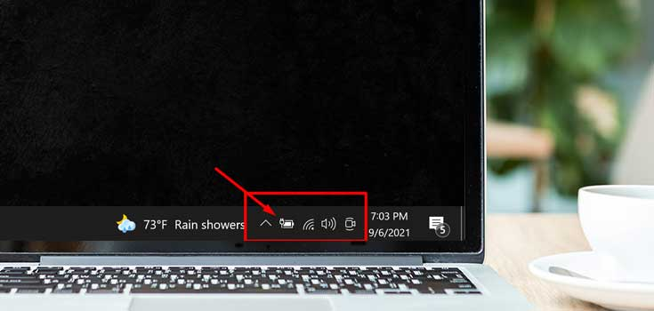 Battery Icon Missing On Windows