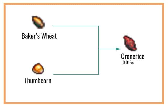 Cronerice Chart