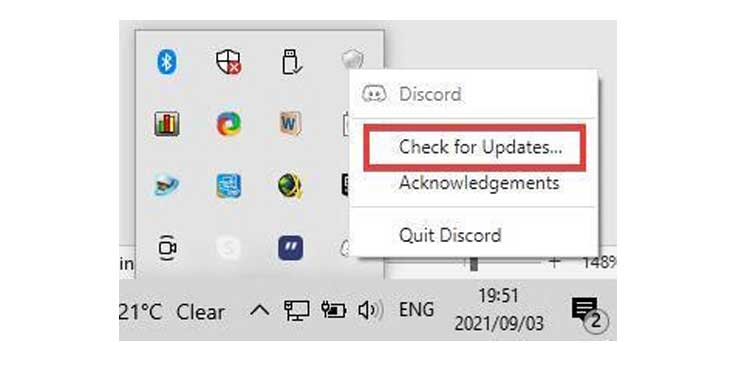 Discord Check for Updates