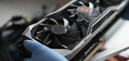 Why Are My GPU Fans Not Spinning? There are many reasons why your GPU fans might not be spinning. Basic operation and temperature control are often the roots of the problem and nothing to worry about. However, some issues could need to be addressed. For example: The GPU isn't hot enough for the fans to turn on yet. Many graphics cards aren't designed to have the fans spin at idle temperatures.There's an obstruction in the GPU fans.You have the GPU monitor Software set up incorrectly, and the fans aren't set to turn on.There isn't enough power getting to the GPU. Continue to keep an eye on your temperatures. Also, note the operation of the fans and the way your computer is running. You need to be aware of any problems because they might be the clues that lead you to the cause of the problem.