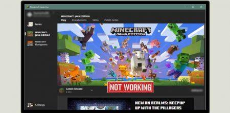 Minecraft Launcher Not Working