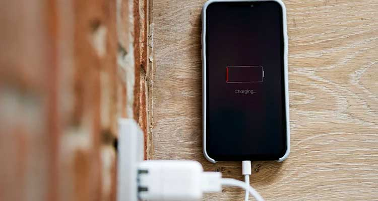 Phone hot when charging