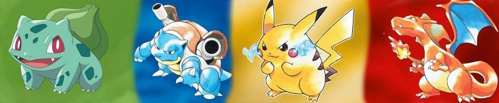 Pokémon Yellow: Special Pikachu Edition allowed players to catch the original starter Pokémons in the wild.