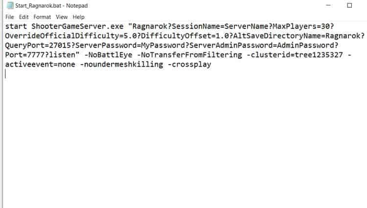 Start Ragnarok Folder Creation