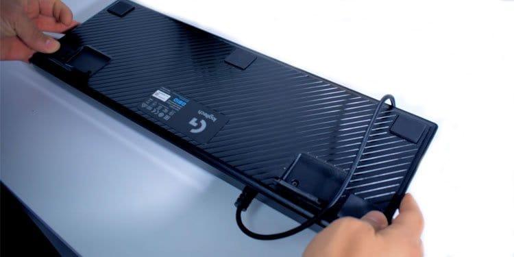 Flip Keyboard Upside Down