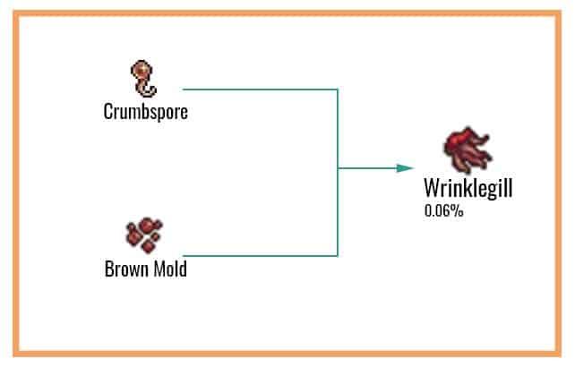 Wrinklegill Chart