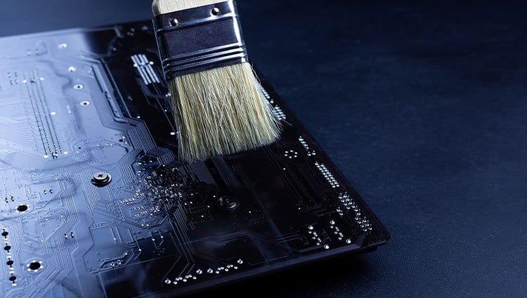 brushing-Motherboard