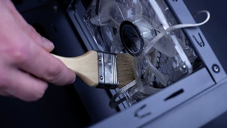 brushing-fans