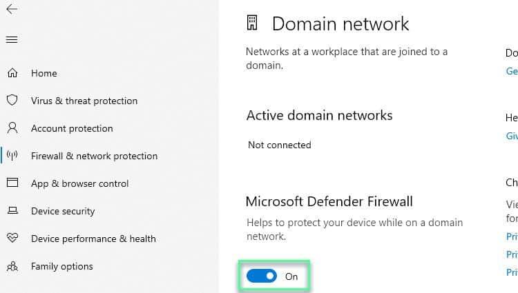 domain-firewall