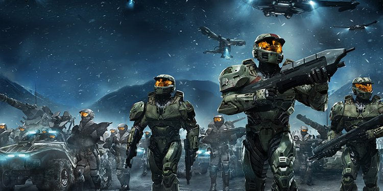 Halo Wars games like command & conquer