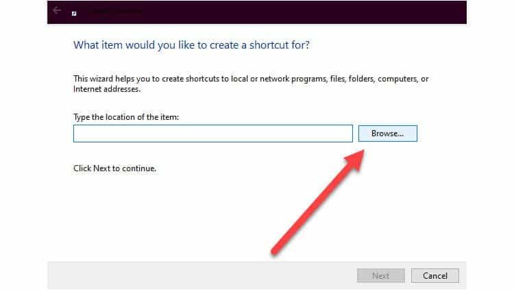 linkbar-shortcut-location