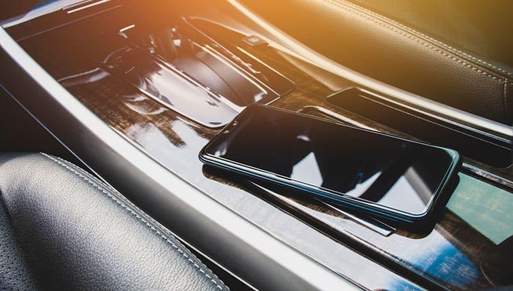 phone-in-car