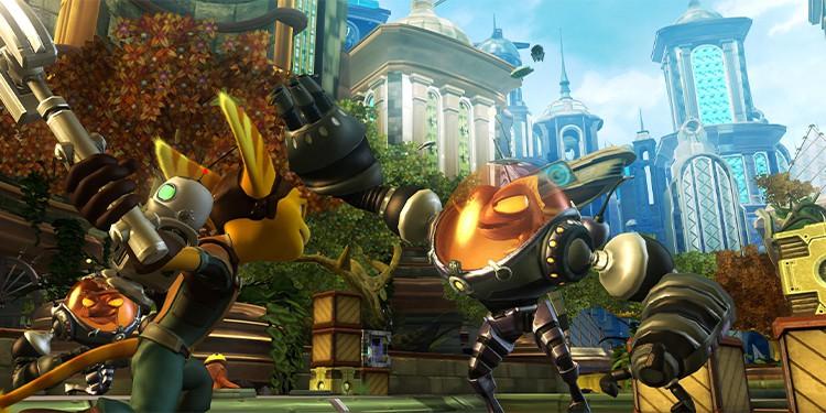 Ratchet & Clank Rift Apart enemies