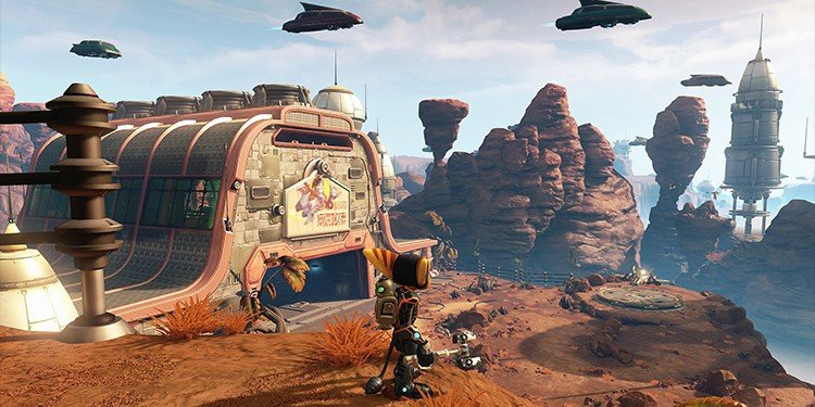 ratchet and clank maps