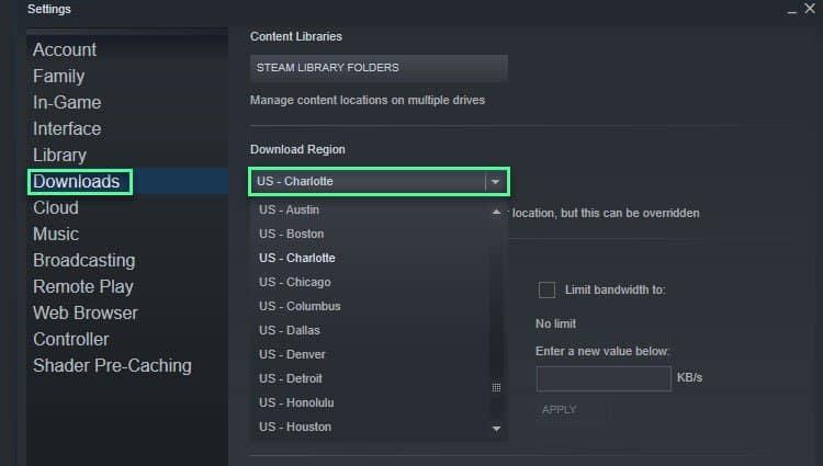 steam-download-server-regions
