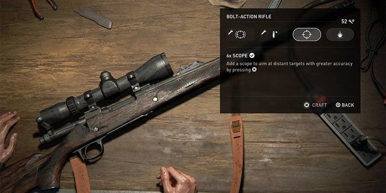 tlou2 weapon guide