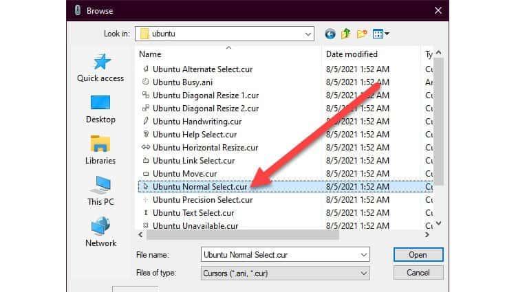 ubuntu-cursors-browse
