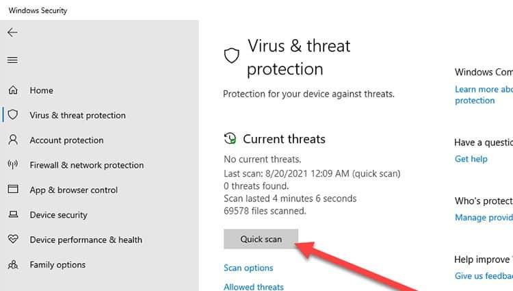 windows-antivirus-scan