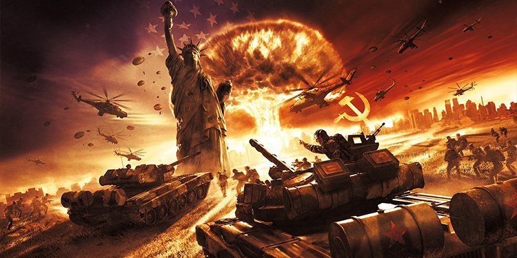 World in Conflict games like command & conquer