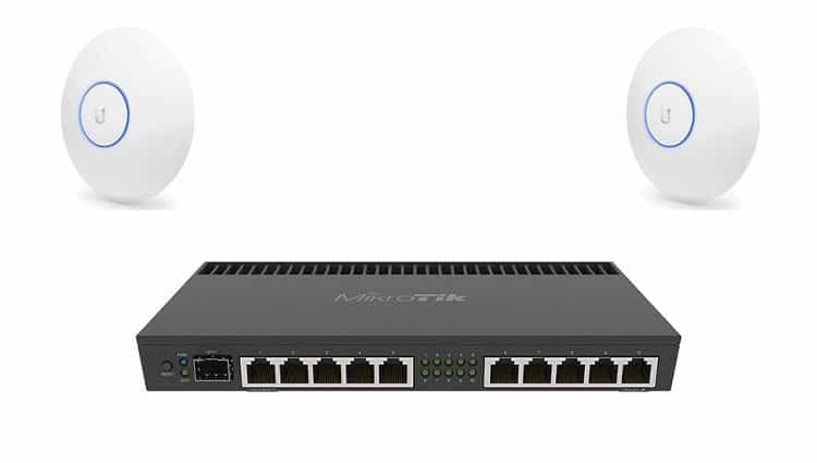 MicroTek Ethernet with Ubiquiti Access Point
