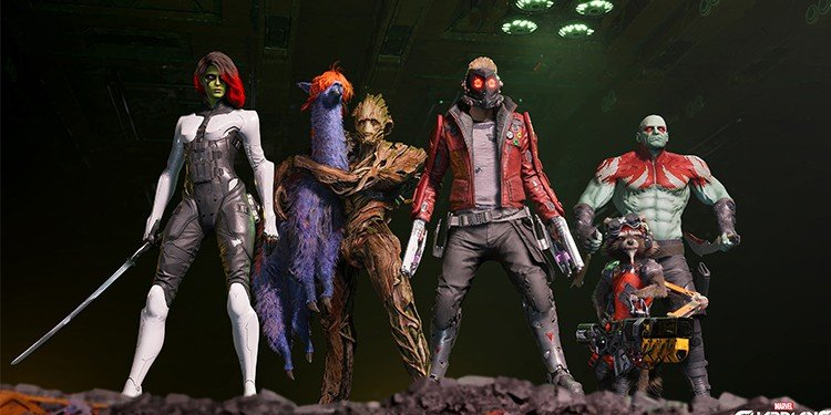 marvel guardians of the galaxy game