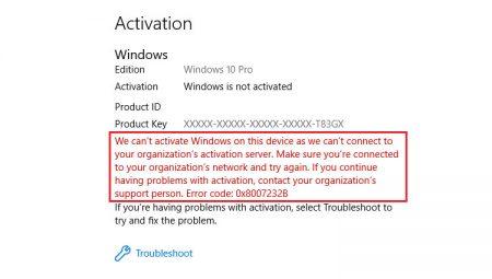 reactivate Windows